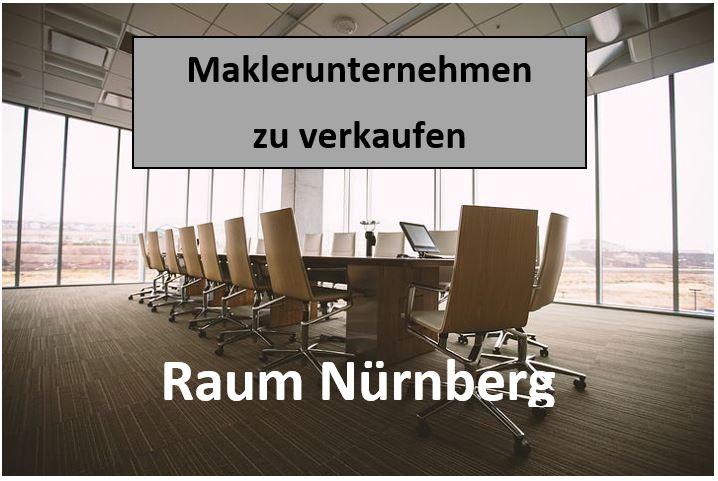 Versicherungsmaklerbüro kaufen im Raum Nürnberg spezialisiert auf Gewerbekunden: