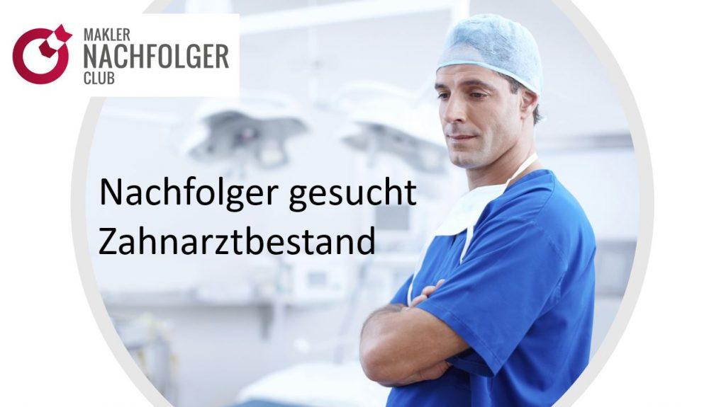Versicherungsbestand Zahnärzte kaufen im Münsterland